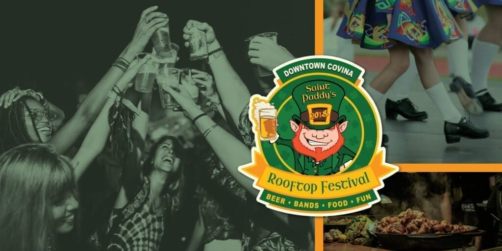 St Paddy's Rooftop Craft Beer Festival Downtown Covina