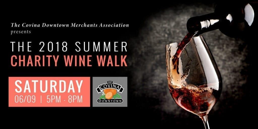 Covina Charities Wine Walk 06/09/18