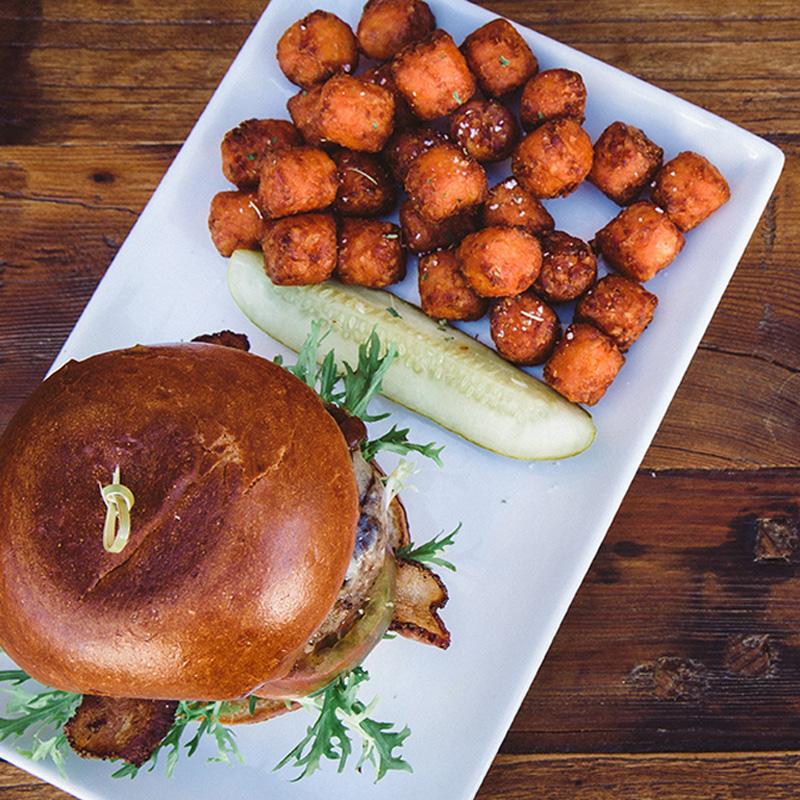 Bread and Barley Pub Burger