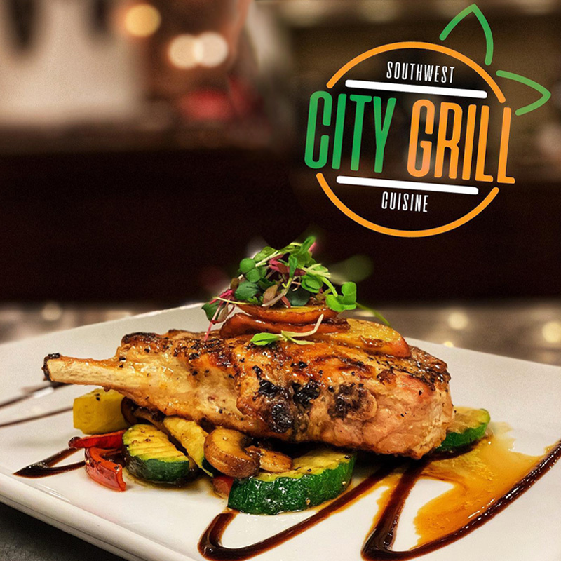 City Grill Pork Chop